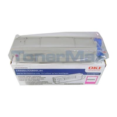 OKIDATA C5500N C5800LDN TONER CTG MAGENTA 2K